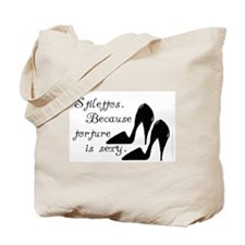 """Torture is Sexy - Stiletto Shoes"" Tote Bag"