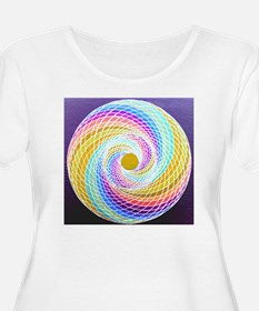 Collide Spiral Glider Revived Plus Size T-Shirt