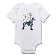 Great Dane Blue Carousel Infant Bodysuit