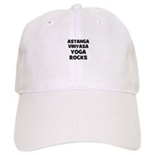 Astanga Vinyasa Yoga Rocks Baseball Baseball Cap