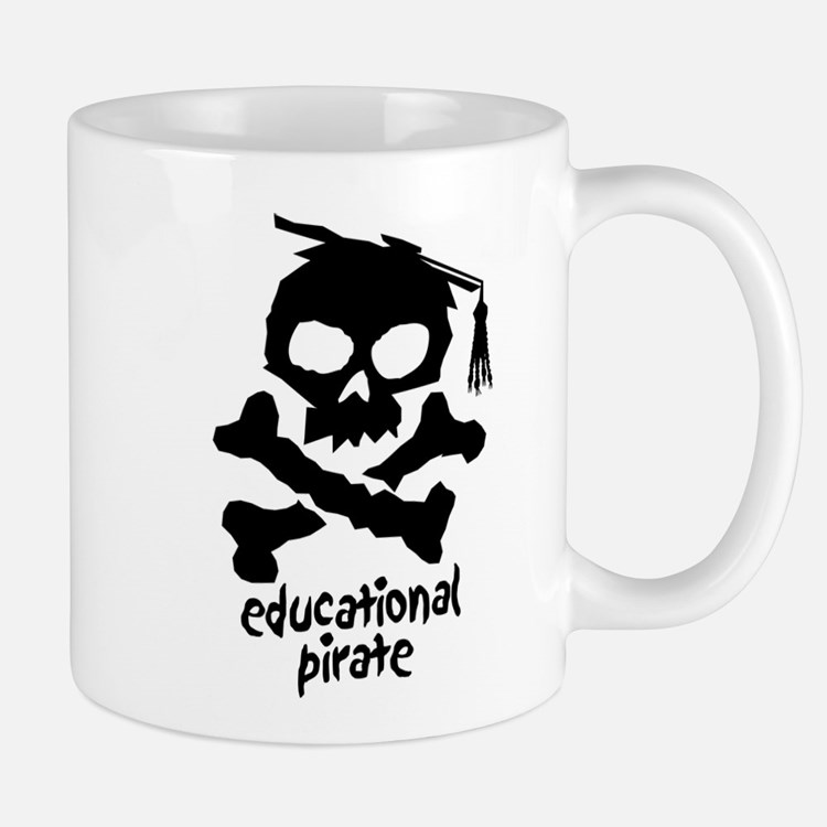 Educational Pirate Mug