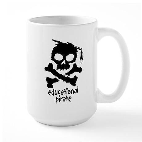 Educational Pirate Large Mug