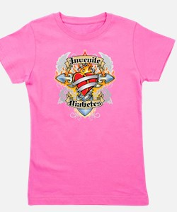 Funny Cure diabetes Girl's Tee