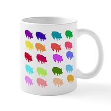 Rainbow Pigs Mug
