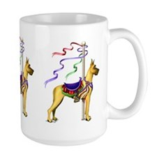 Great Dane Fawn Carousel Mug