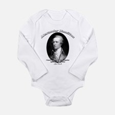Cute Alexander the great Long Sleeve Infant Bodysuit