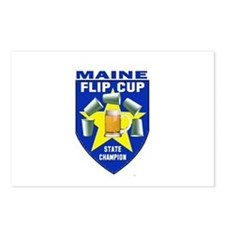 Maine Flip Cup State Champion Postcards (Package o