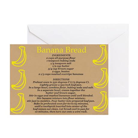 banana bread recipe card - photo #44
