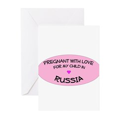Russia Adoption Greeting Cards (Pk of 20)
