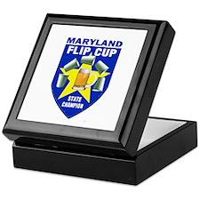 Maryland Flip Cup State Champ Keepsake Box
