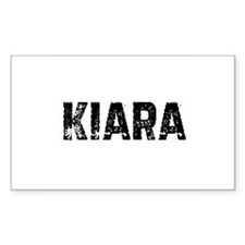 Kiara Rectangle Decal