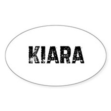 Kiara Oval Decal