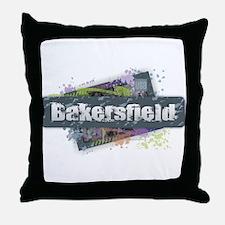 Bakersfield Design Throw Pillow