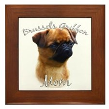 Brussels Mom2 Framed Tile