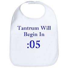 Tantrum Countdown Bib
