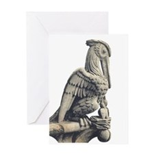 Notre Dame Pelican Greeting Card