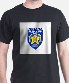 Indiana Flip Cup State Champi T-Shirt
