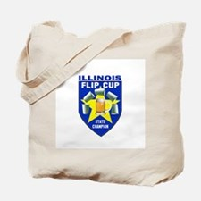 Illinois Flip Cup State Champ Tote Bag