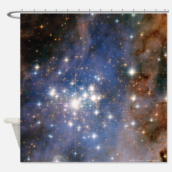 Unique Universe Shower Curtain