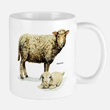 Sheep and Lamb Mug