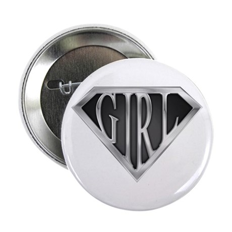 "SuperGirl(Metal) 2.25"" Button (10 pack)"