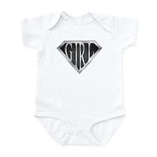 SuperGirl(Metal) Infant Bodysuit