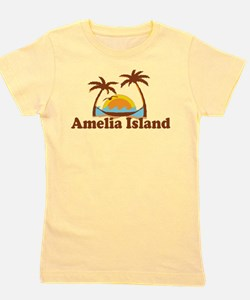 Cute Plantation fl Girl's Tee