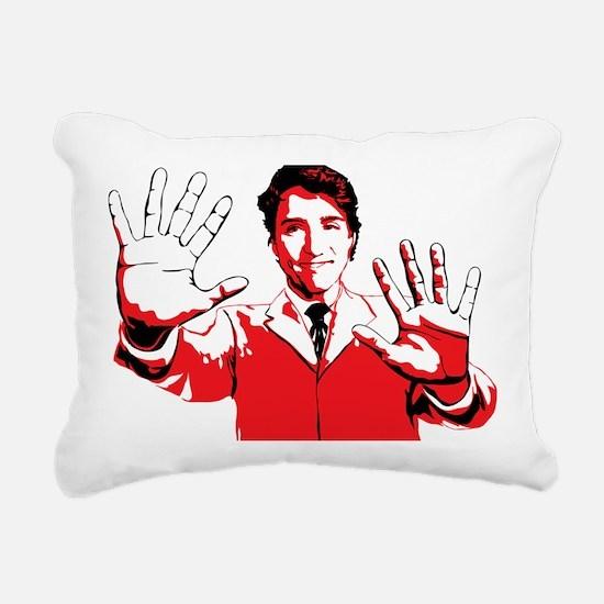 Cute Canadian politics Rectangular Canvas Pillow