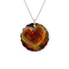 Two Hearts Burning Desire Necklace