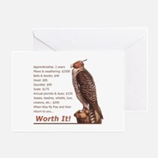 Falconry - Worth It! Greeting Card
