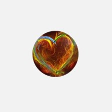 Heart of Burning Desire Mini Button
