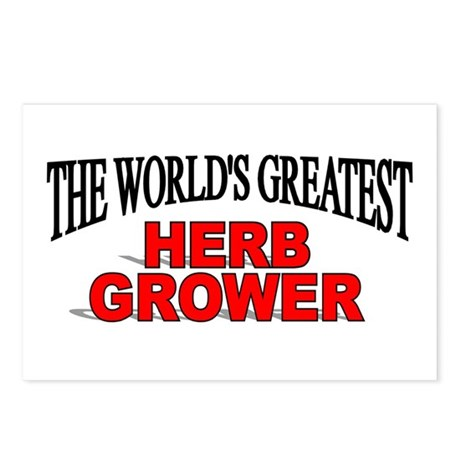 """The World's Greatest Herb Grower"" Postcards (Pack"