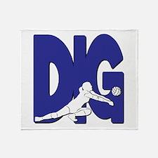 DIG VB Throw Blanket