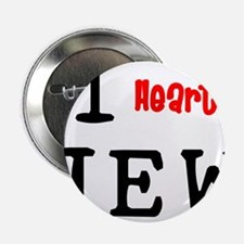 "heartJEW2.png 2.25"" Button (100 pack)"