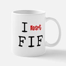 heartFIF2 Mugs