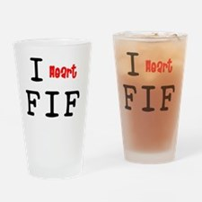heartFIF2.png Drinking Glass