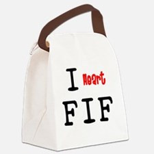 heartFIF2.png Canvas Lunch Bag