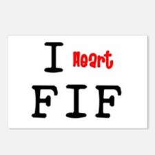 heartFIF2.png Postcards (Package of 8)