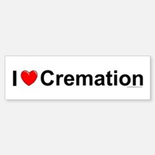 Cremation Bumper Bumper Sticker