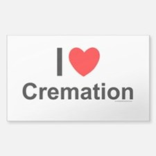 Cremation Decal