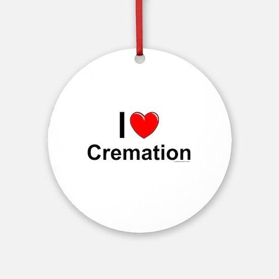 Cremation Round Ornament