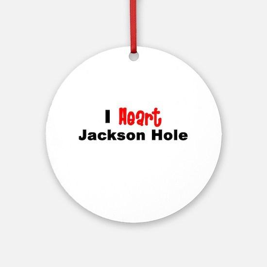 Jacksonhole.png Round Ornament