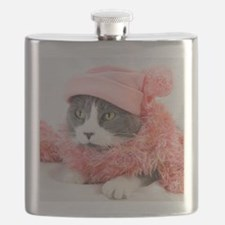 Funny White Flask