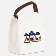 Standard Altar with 6 Gurus Canvas Lunch Bag