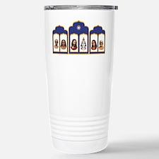 Standard Altar with 6 Gurus Travel Mug