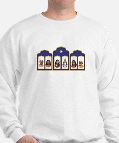 Standard Altar with 6 Gurus Sweatshirt