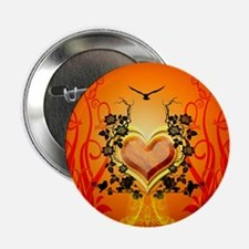 """Awesome hearts 2.25"""" Button (100 pack)"""