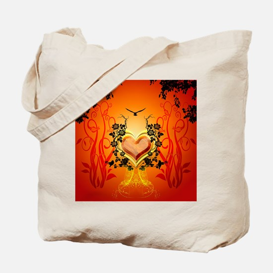 Awesome hearts Tote Bag