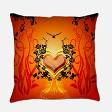 Awesome hearts Everyday Pillow