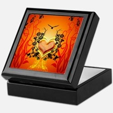 Awesome hearts Keepsake Box